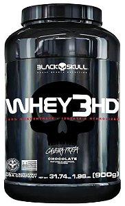 Whey 3 HD 900g - Black Skull
