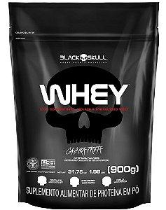 Whey Refil 900g - Black Skull