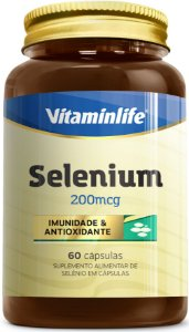 Selenium 200 mcg 60 cápsulas - Vitaminlife
