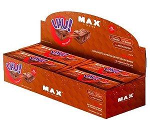 UAU! Protein Bar  CX 12 Unidades - Max Titanium