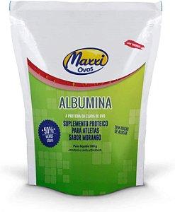 Albumina Com sabor 500 g - Maxxi Ovos