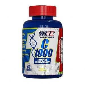 Vitamina C 1000 - 60 cáps - One Pharma