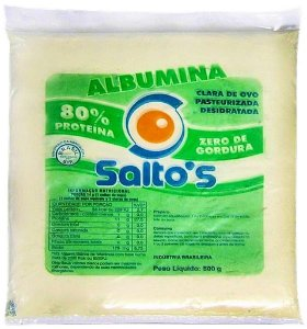Albumina 500g  Sabor Natural -  Salto's
