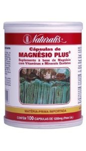 Magnésio Plus 100cáps 1200mg Naturalis