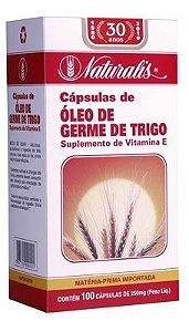 Óleo de Gérme de Trigo 100caps 250mg Naturalis