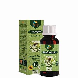 Própolis Verde Solução Alcoolica 15%  20ml Fauna & Flora