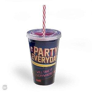 Copo com Canudo Party Everyday