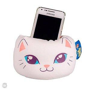 Almofofa Porta Celular Gatinha