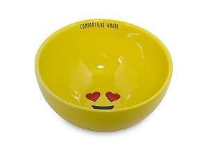 Tigela Bowl em Cerâmica Compartilhe Amor