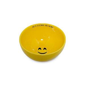 Tigela Bowl em Cerâmica Felicidade
