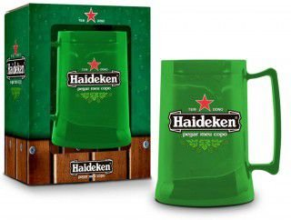 Caneco Congelável  - Haideken Heineken 300ml