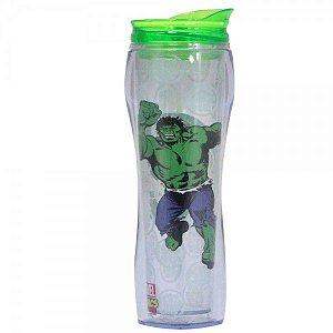 Copo com Canudo Alto Incrível Hulk