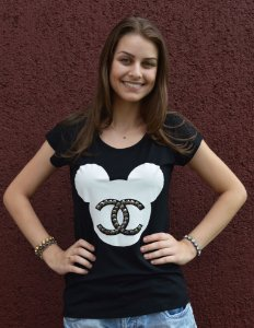 T-shirt Mickey Chanel