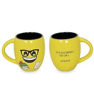 Caneca Emoji Formaturas Pedagogia 300ml