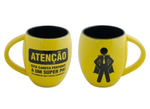 Caneca Emoji Super Pai 300ml