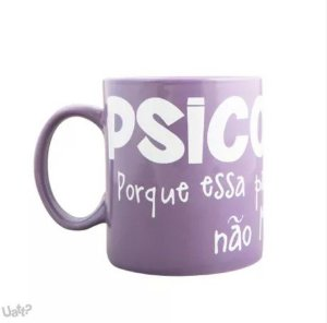 Caneca Profissões Psicologia