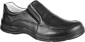 Sapato Confortável BM Brasil Couro Preto