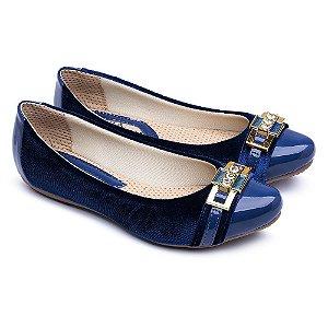Sapatilha Feminina Pizaflex Azul