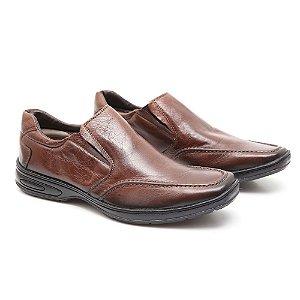 Sapato Torani Couro Comfort Café