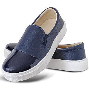 Tênis Slip On Feminino Torani Azul