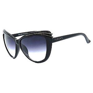 Óculos de Sol Feminino Preto Torani
