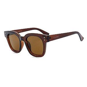 Óculos de Sol Marrom Feminino Torani