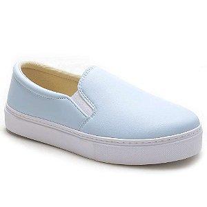 Tênis Slip On Feminino Azul Torani