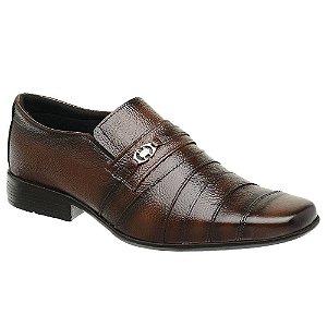 Sapato Torani Social Masculino Couro Corsano Marrom