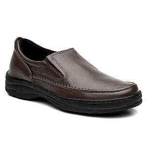 Sapato Masculino Confortável Torani Marrom