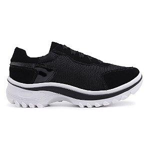 Tênis Chunky Sneaker Feminino Preto Torani
