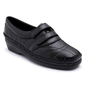 Sapato Feminino Comfort Ortopédico Torani Preto