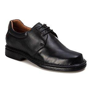 Sapato Social Masculino Couro Preto