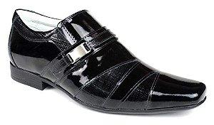 e3230dfa602a7 Sapato Masculino Mafisa Sola de Borracha Verniz Preto - Loja Santa ...
