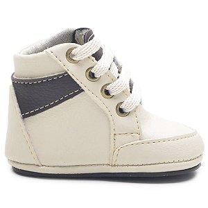 Botinha Bebê Sapatinho Infantil Confortável Sapatos de Bebê