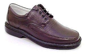 Sapato Masculino com Cadarço Palmilha Gel Linha RELAX
