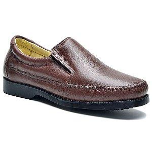 Sapato Casual ClaCle Masculino Confort Preto ou Marrom