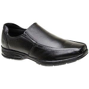 Sapato Masculino Linha Comfort Couro Preto Torani SLZ