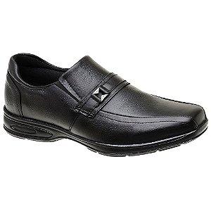 Sapato Masculino Casual Confortável Preto Torani SLZ