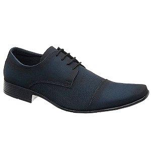 Sapato Masculino Nobuck Azul com cadarço Torani SLZ