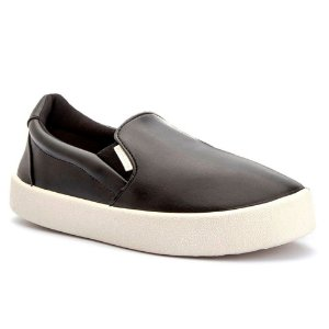 Tênis Slip On Preto Casual