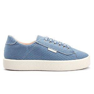 Tênis Casual Confortável Azul