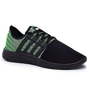Tênis Casual Confortável Calce Fácil Verde