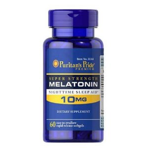 Melatonina 10mg 60 capsulas PURITANS Pride