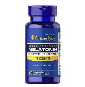 Melatonina 10mg 60 capsulas PURITANS Pride
