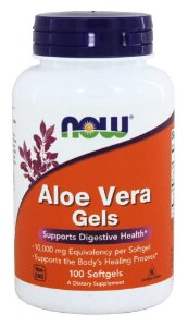 Aloe Vera Gels 10,000mg 100 softgels NOW Foods