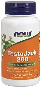 TestoJack 200 60 Veg Capsules NOW Foods