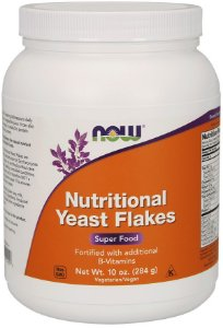 Nutritional Yeast Flakes 10 oz 284g NOW Foods