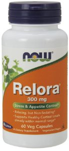 Relora 300mg 60 veg caps NOW Foods