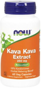 Kava Kava 250 mg Veg Capsules NOW Foods