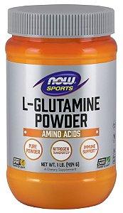 Glutamine Powder Glutamina em Pó 1lb 454g NOW Foods FRETE GRATIS